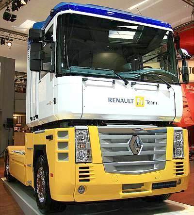 Renault Magnum. renault lkw