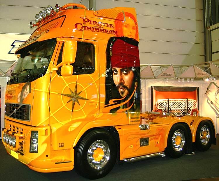 www.hadel.net - AUTOS - LKW - Volvo - FH12 520 PS Pirates of the ...