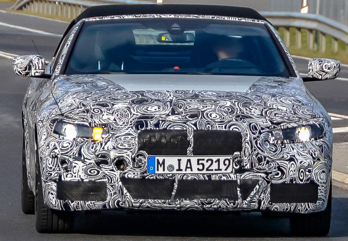 Www Hadel Net Autos Pkw Bmw 4er Cabrio Erlkonig Im Fruhjahr 2019