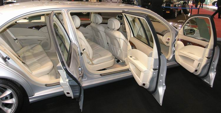 autos pkw mercedes lorinser e350 stretch iaa 2005. Black Bedroom Furniture Sets. Home Design Ideas