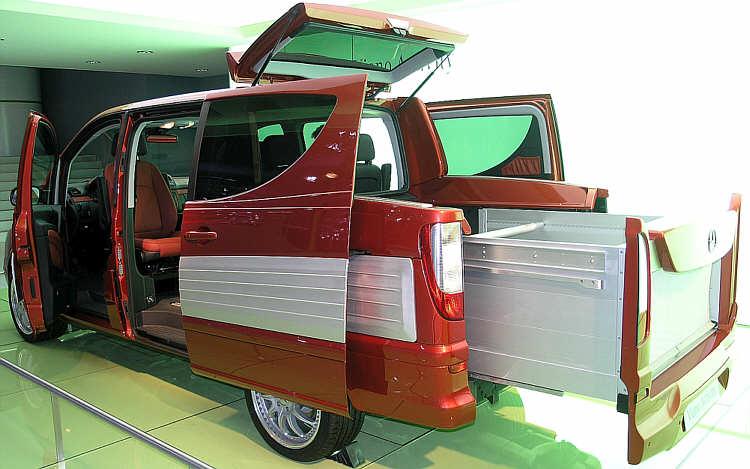 autos pkw mercedes viano activity studie auf der iaa nutzfahrzeuge 2004. Black Bedroom Furniture Sets. Home Design Ideas