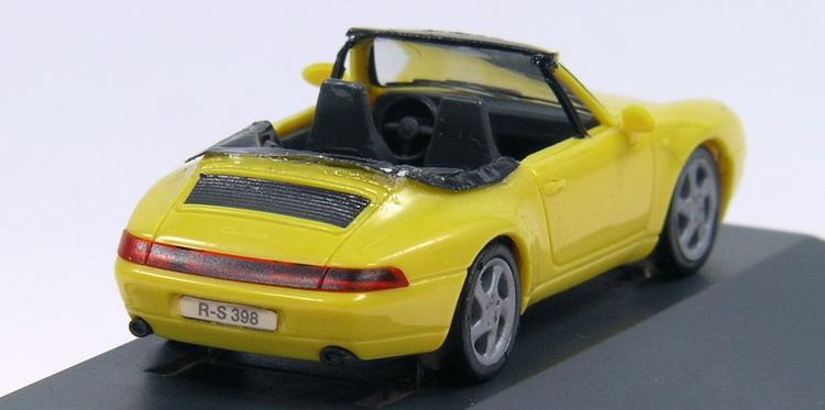 modellbau pkw porsche 911 cabrio. Black Bedroom Furniture Sets. Home Design Ideas